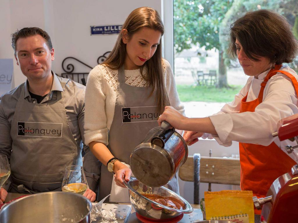 Château du Palanquey & SPA  Cooking classes on reservation to discover traditional French recipes with local products
